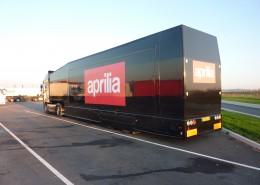Aprilia trailer